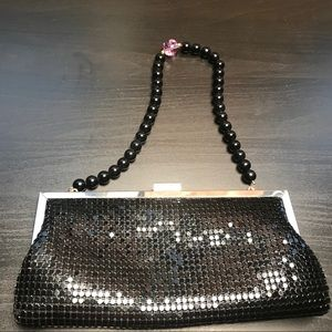 Small black clutch/wristlet